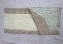 Natural cashmere stole 4
